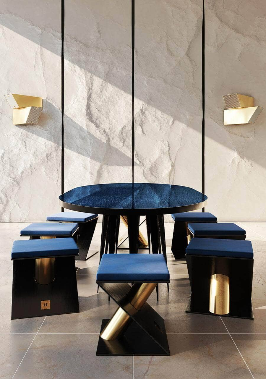Bold & Quiet Spring/Summer Collection - Minimal Luxe - Living Area